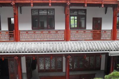 仿古建筑楼房