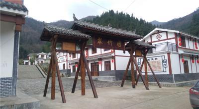 陕西汉中仿古建筑
